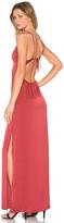 Capulet Deep V Maxi Dress