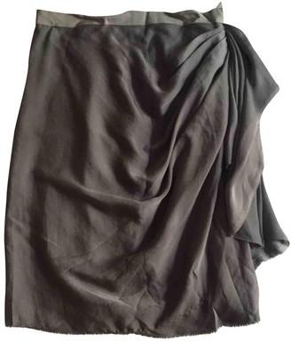 Lanvin Anthracite Skirt for Women