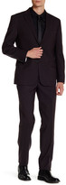 Kenneth Cole New York Solid Performance Two Button Notch Lapel Suit