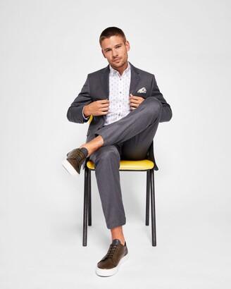 Ted Baker Debonair Wool Suit Trousers