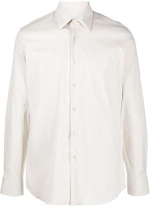 Prada Long-Sleeved Buttoned Shirt