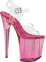Pleaser USA Women's Flamingo-808T Platform Ankle Strap Sandal