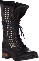 Steve Madden Tropador Tall Boot Black Leather