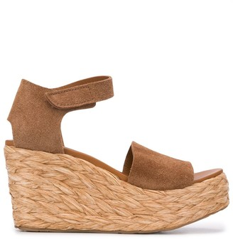Pedro Garcia Dory 80mm wedge sandals