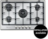 Whirlpool Fusion GMF7522IXL Built-In Gas Hob - Stainless Steel