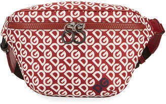 Dolce & Gabbana Men's Logo Mania Belt Bag