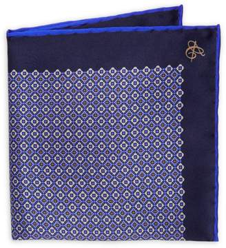 Canali Diamond Silk Pocket Square