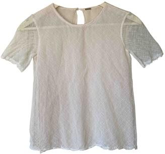 Adam Lippes White Silk Top for Women