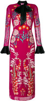 Temperley London Woodland midi dress