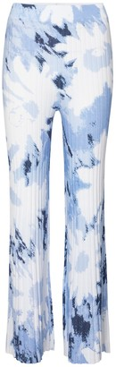 Sir. Freya printed wide-leg pants