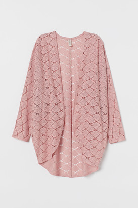 H&M Hole-patterned cardigan