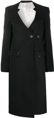 Peter Do Cut-Out Lapel Asymmetric Jacket