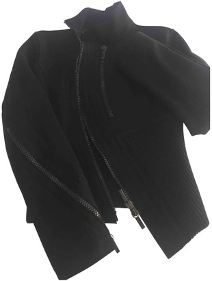 Dirk Bikkembergs Black Wool Jacket for Women