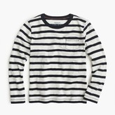 J.Crew Boys' long-sleeve classic striped T-shirt