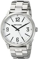 Rip Curl Men's A2835-WHI Flyer II Analog Display Analog Quartz Silver Watch