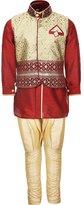 AJ Dezines Kids Indian Kurta Pyjama and Waistcoat Set for Kids (2-3 Years)