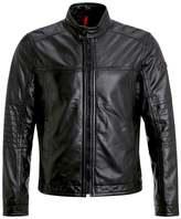 Strellson Spirit Leather Jacket Schwarz