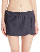 Free Country Women's Belted Skirt Bikini Bottom
