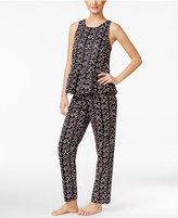 Kate Spade Ribbon Print Sateen Pajama Set