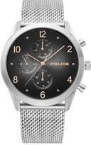 Police Silfra Men's Stainless Steel Mesh Bracelet Watch