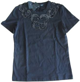 Marc by Marc Jacobs Black Cotton Top for Women