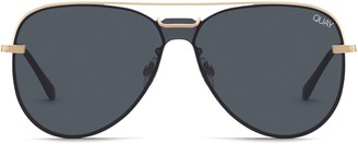 Quay Notorious 56mm Aviator Sunglasses