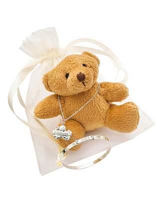 Marisota Personalised Teddy Bear Gift Set