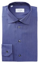 Eton Solid Contemporary Fit Dress Shirt