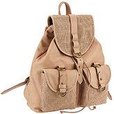 Joelle Hawkens by Treesje Perforated Leather Rachel Backpack