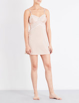 Wacoal Lace Affair satin and lace chemise