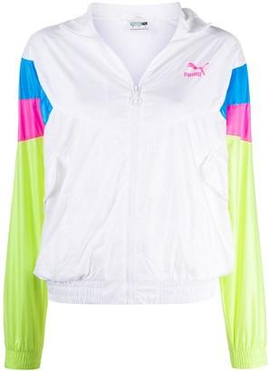 Puma TFS panelled-sleeves track jacket