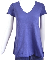 American Vintage - Women's Purple A Shape S/S V-Neck
