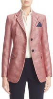 Armani Collezioni Women's Geometric Jacquard Two-Button Jacket