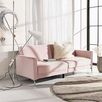 "Safavieh Home Chelsea Foldable Convertible 78.7"" Sofa Bed Futon"