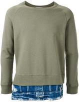 Miharayasuhiro layered detail sweatshirt