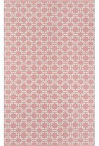Momeni Madcap Cottage By Palm Beach Via Mizner Handwoven Flatweave Pink Indoor/Outdoor Area Rug Madcap Cottage by Rug Size: Rectangle 2' x 3'