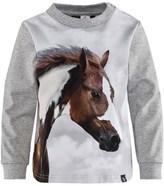 Molo Running Wild Horse Print Elvira Top
