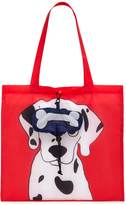 Forever 21 FOREVER 21+ Dalmatian Graphic Pop-Out Tote Bag