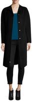 St. John Wool Dolman Tie Waist Coat