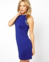 Asos Embellished Hardwear Shift Dress