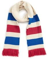 BP Women's Varsity Stripe Oblong Scarf