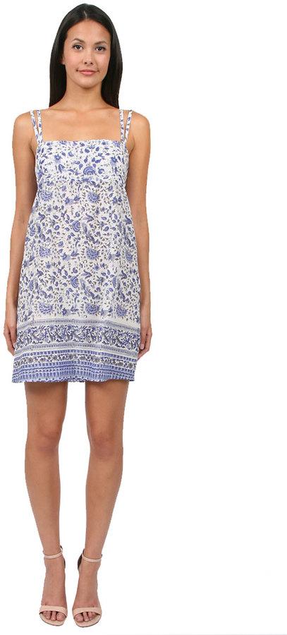 Tysa Fiji Dress in Blue Floral