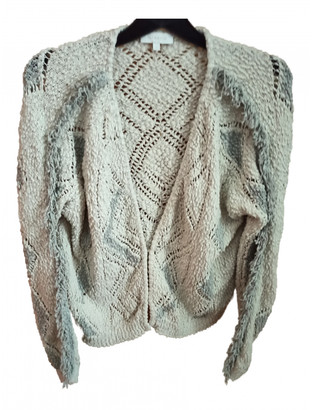 Hoss Intropia Ecru Cotton Knitwear