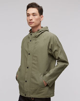 Proofed Linen Hooded Jacket