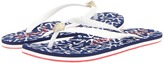 Juicy Couture Flip (White Rubber Anchors Away) - Footwear