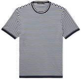 Ermenegildo Zegna - Slim-fit Striped Cotton T-shirt