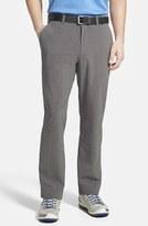 Cutter & Buck Men's Big & Tall 'Bainbridge' Drytec Moisture Wicking Flat Front Pants