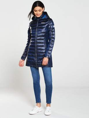Regatta Kw Andel Longline Jacket - Blue