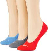 Nike Womens 3-pk. No-Show Socks