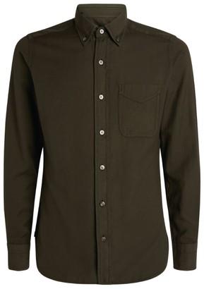Tom Ford Button-Down Cotton Shirt